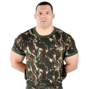 3770325d16f Camiseta Exercito Para Uniforme Bdu - Uniformes Militares no Mercado ...