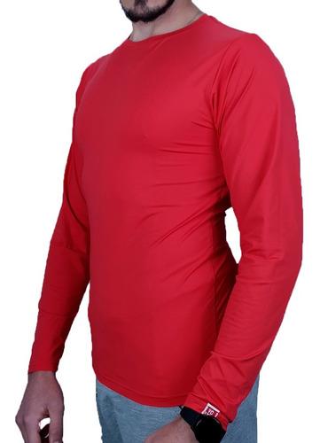 camiseta masculina com proteção solar fator 50 vcstilo c93
