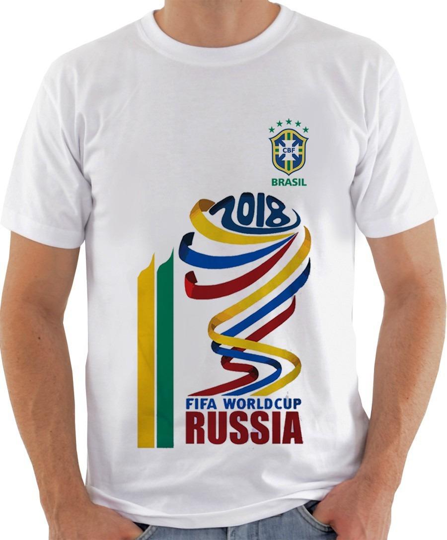 a6267a26ae4ce camiseta masculina - copa 2018 mascote russia brasil. Carregando zoom.