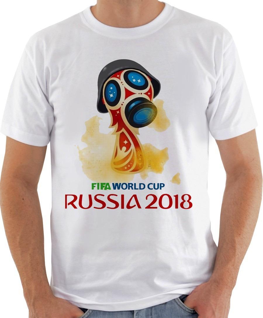 d5c1b85eb92fd Camiseta Masculina - Copa Do Mundo Sátira Russia - R  29