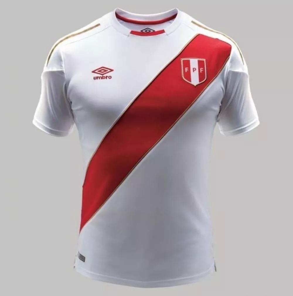 camiseta masculina copa mundial 2018 fifa original peru. Carregando zoom. 6a9910478e40e