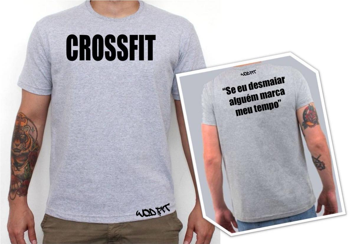 19d3ad9c6 camiseta masculina crossfit + frase. Carregando zoom.