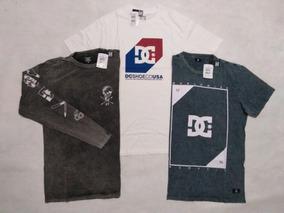 36ec9247b4 Camiseta Dc Shoes - Calçados, Roupas e Bolsas com o Melhores Preços no  Mercado Livre Brasil