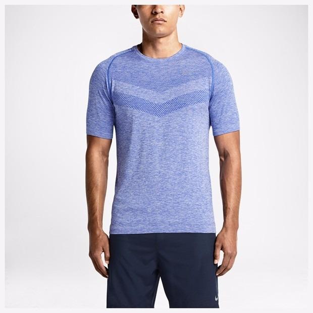 886e19e25ad26 Camiseta Masculina De Corrida Nike Dri-fit Knit Orignal - R  129