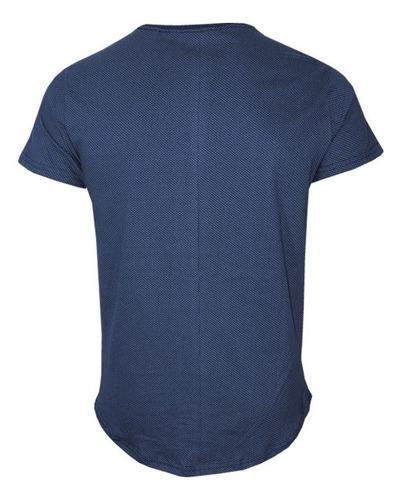 camiseta masculina denim polo rg518