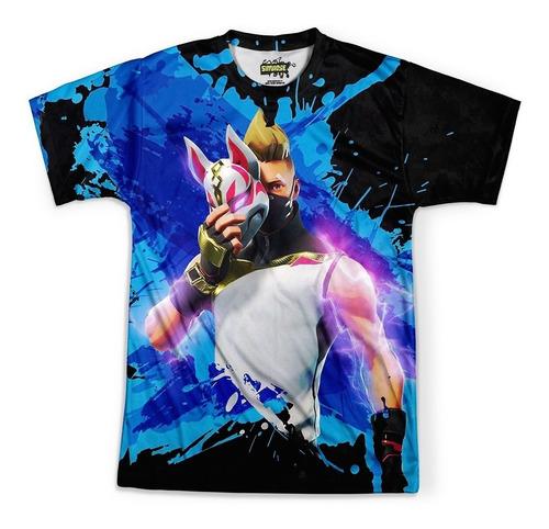 camiseta masculina drift fortnite