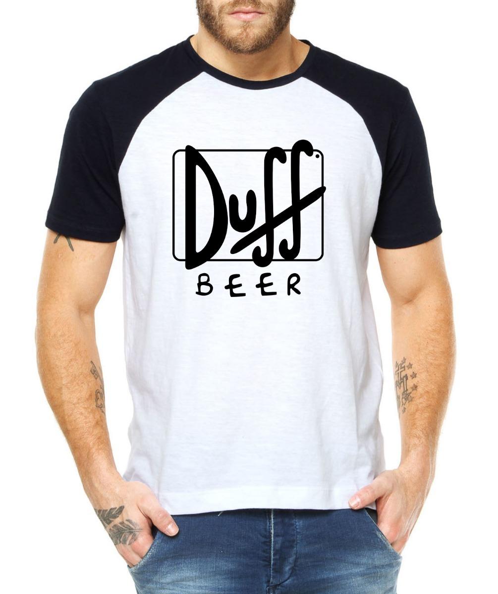 bf4349e16 camiseta masculina duff beer cerveja simpsons 100% algodão! Carregando zoom.