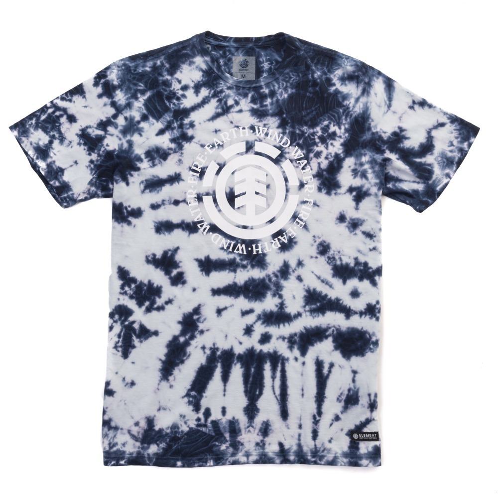 camiseta masculina element skate seal tie dye manga curta. Carregando zoom. b6493c2f43e