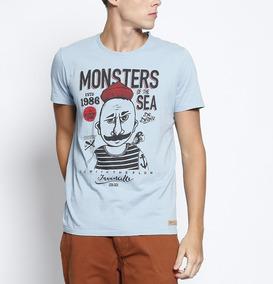 c584097e8 Camiseta Colcci Estampa Aguia - Camisetas Manga Curta para Masculino ...