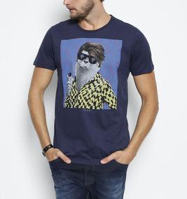 790a496e7 Camiseta Colcci Estampa Aguia - Camisetas Manga Curta no Mercado Livre  Brasil