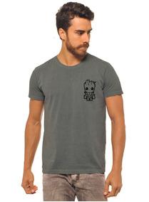 fb1d20eb13 Camiseta Masculina Estonada - Camisetas Manga Curta para Masculino no  Mercado Livre Brasil