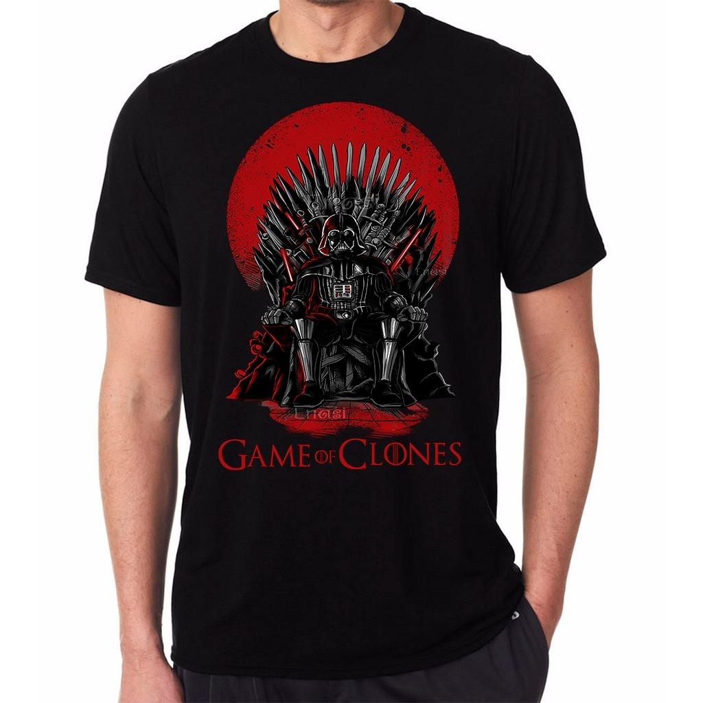 camiseta masculina game of clones. Carregando zoom. 247ec66d5d6fc
