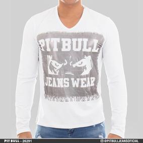 dd9ed0828b Camisetas De Pit Bull Pura no Mercado Livre Brasil