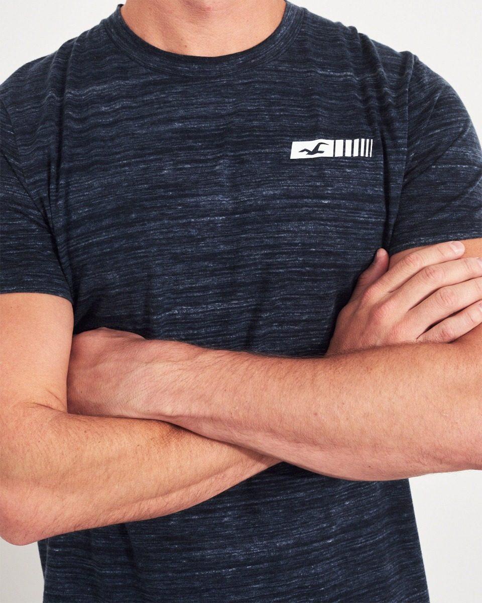 camiseta masculina hollister casacos polos abercrombie tommy. Carregando  zoom. e6252bc285498