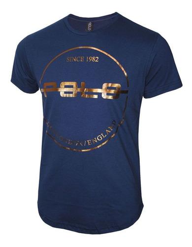 camiseta masculina kit com 4 estampa em foil