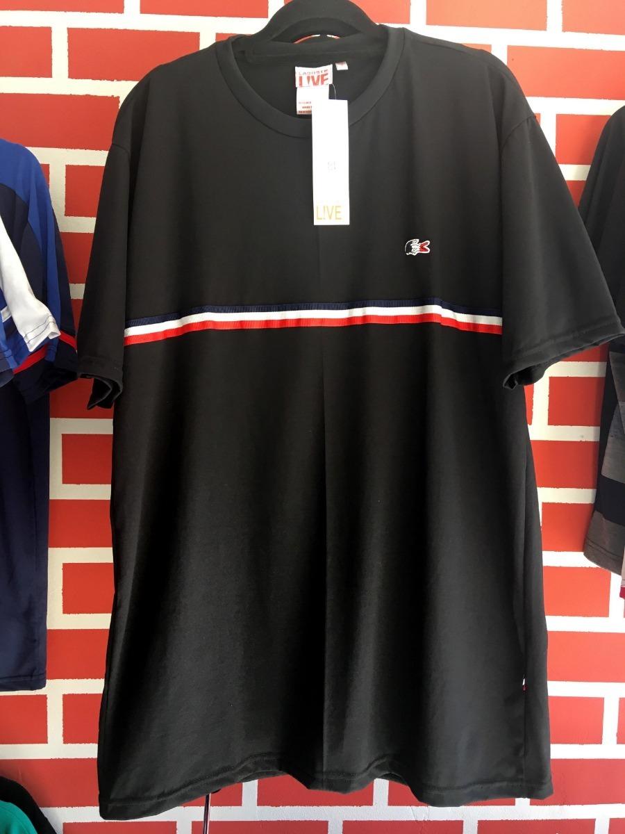 Camiseta Masculina Lacoste Listra Frontal - R  90,00 em Mercado Livre d9cea5b298