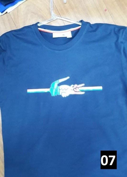 Camiseta Masculina Lacoste Original Distribuidora Oficial - R  99,00 ... 42e1433912