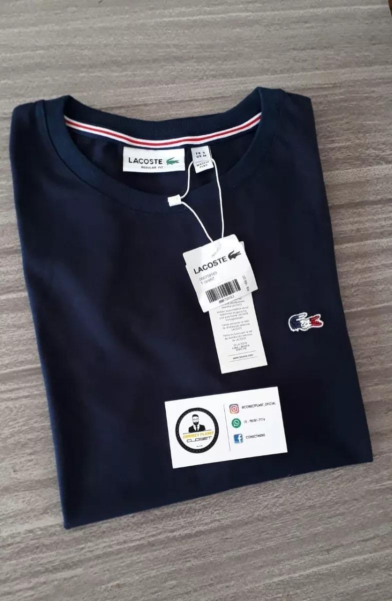 23ef574cb936a camiseta masculina lacoste original importada. Carregando zoom.