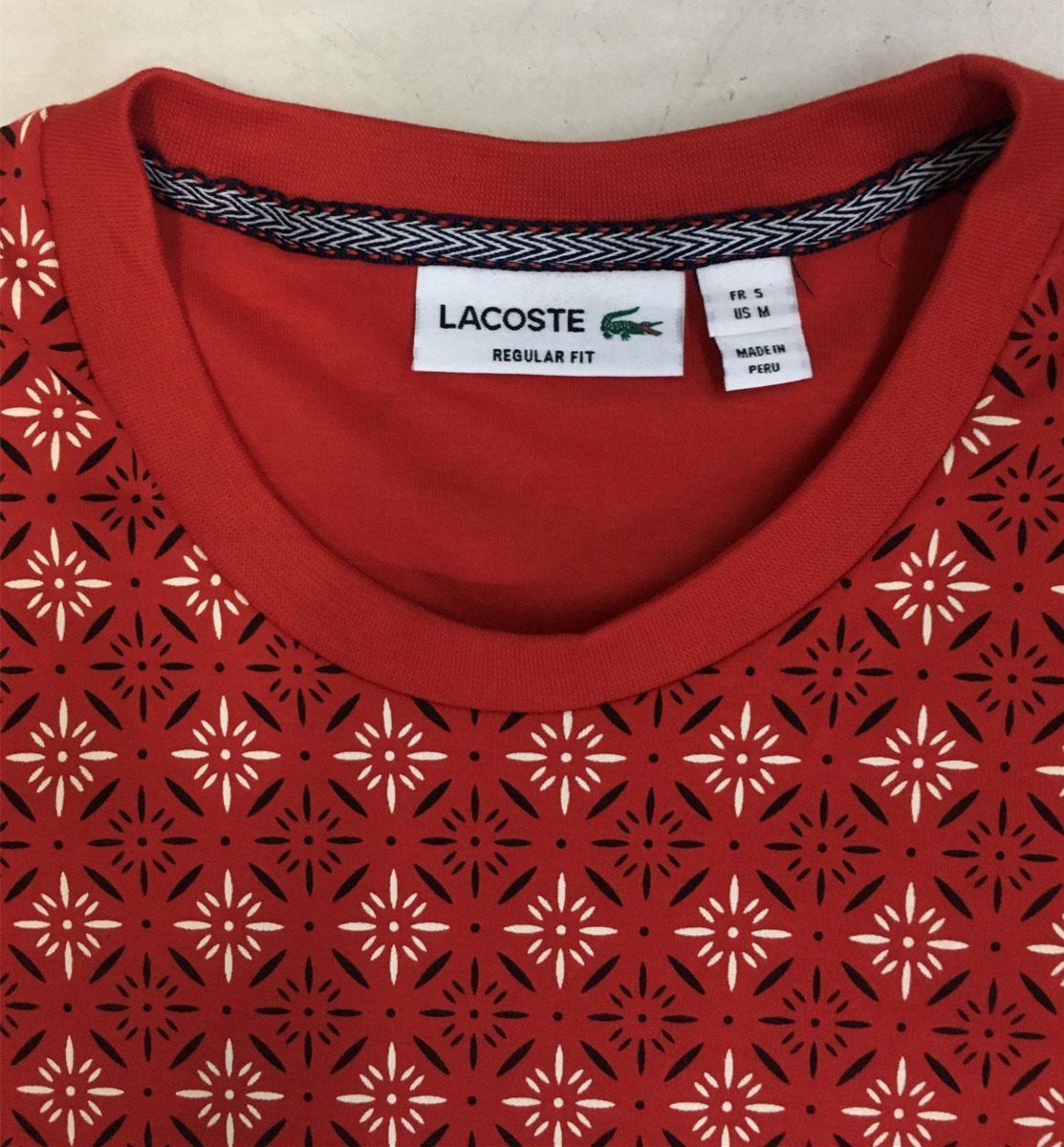 64044afc148 camiseta masculina lacoste slimfit live - importada peruana. Carregando  zoom.