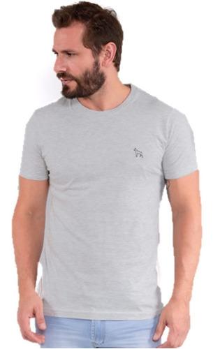 camiseta masculina lisa revanche manga extra curta machão