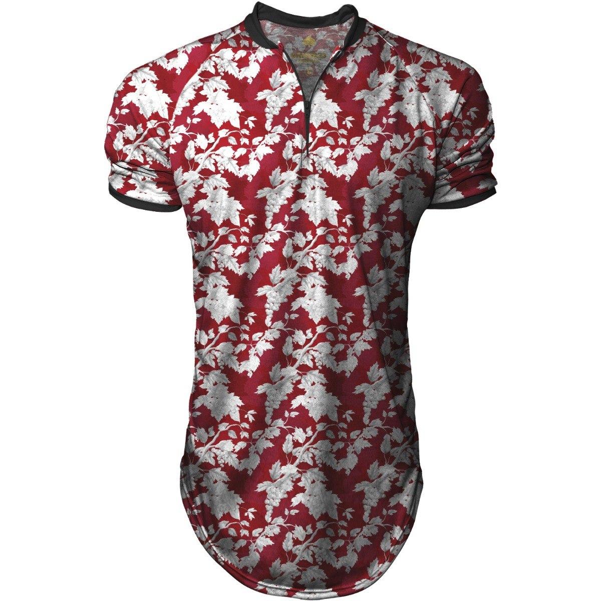 26fe1c00b camiseta masculina longl blusa polo sport vermelha florida. Carregando zoom.