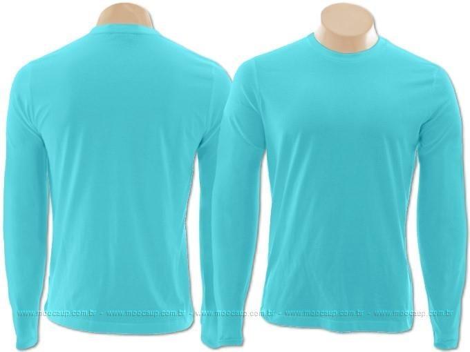 041aaaa1e Camiseta Masculina Manga Longa Uv 50 - R  40