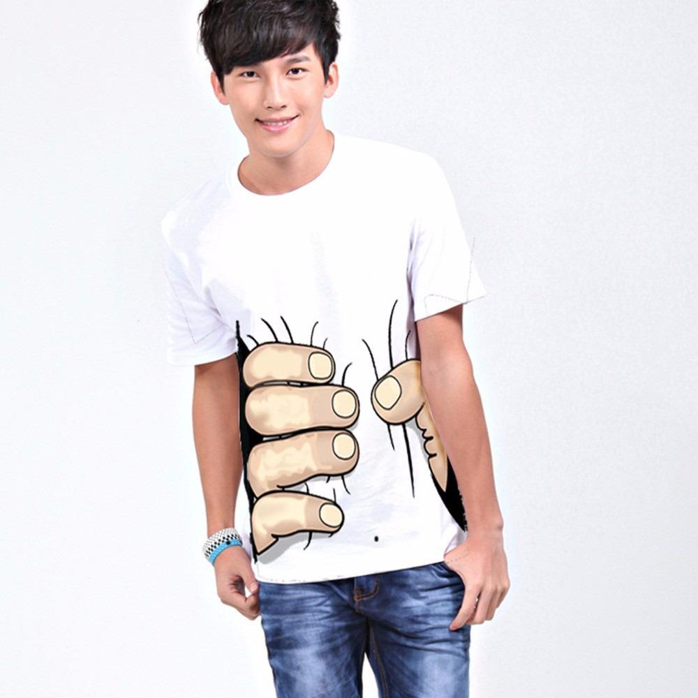 Camiseta Masculina Mão Grande - Criativa - R  39 42d21818afe