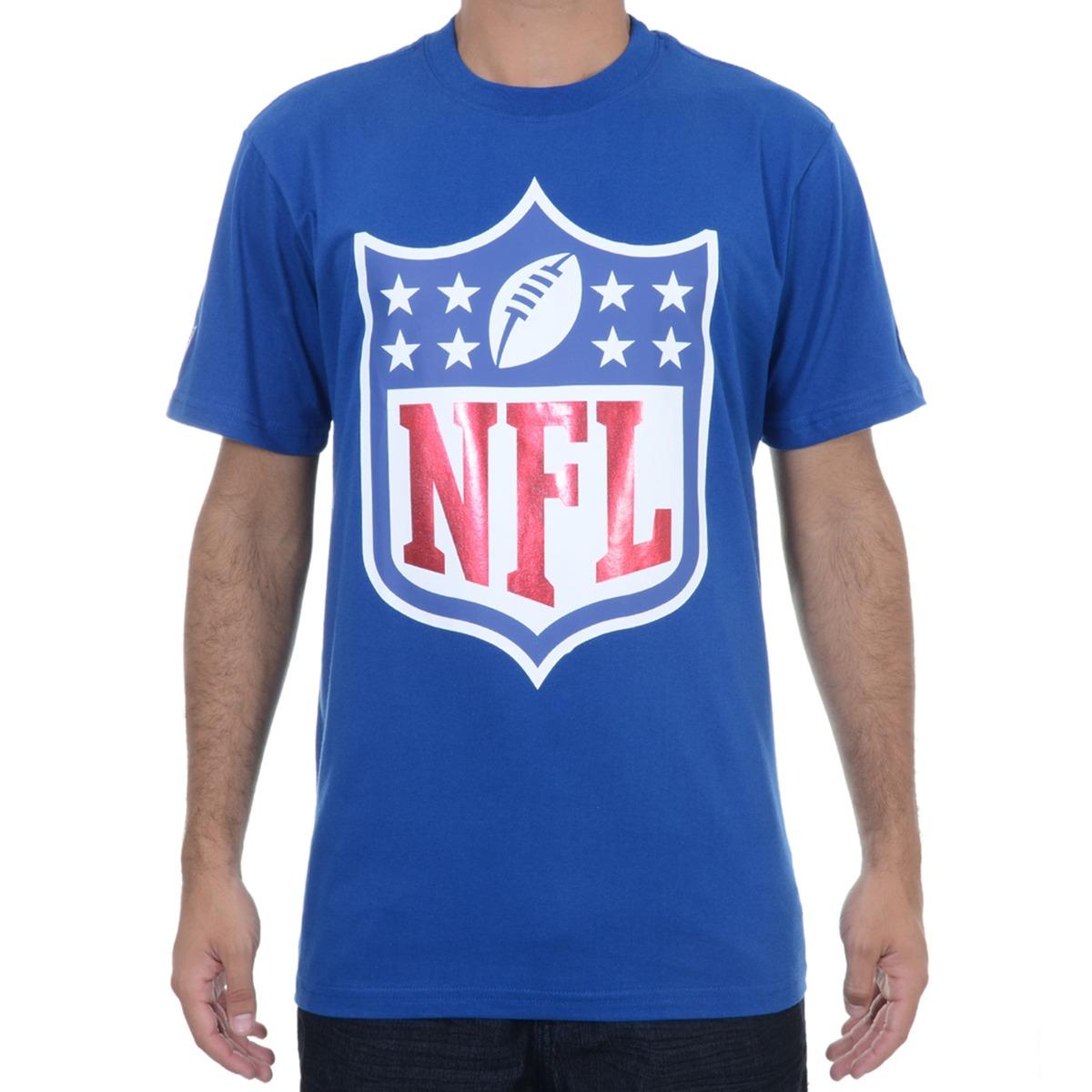 camiseta masculina new era draft nfl azul. Carregando zoom. 7cf59407612c5