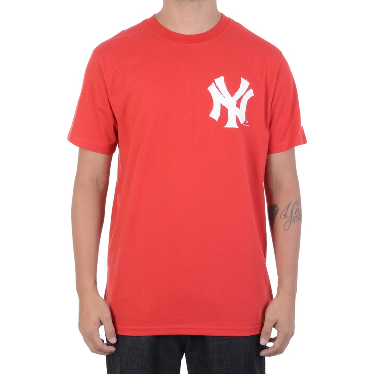 camiseta masculina new era ny yankees usa. Carregando zoom. 9b4c4c8385c