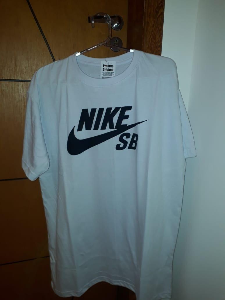 camiseta masculina nike sb logo. Carregando zoom. f2ce8204430e3