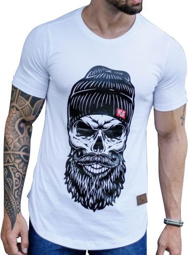 camiseta masculina oversized camisa longline na promoção