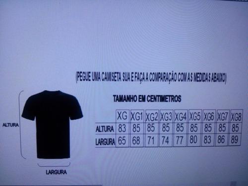 camiseta masculina plus size hangloose,xg-xg1-xg2-xg3-xg4...