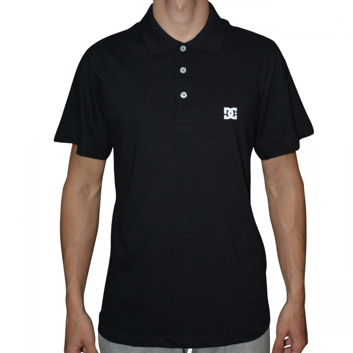 camiseta masculina polo dc shoes basic model original. Carregando zoom. 8f7cd7a0460