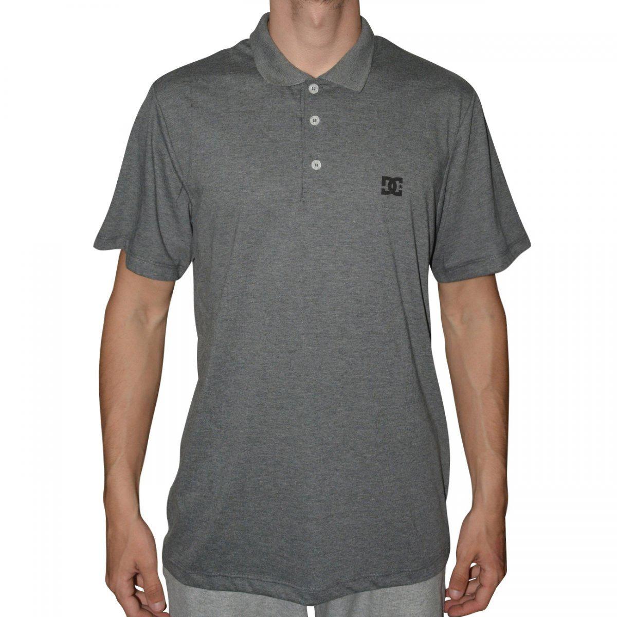 camiseta masculina polo dc shoes basic original cores. Carregando zoom. 43388c327a4