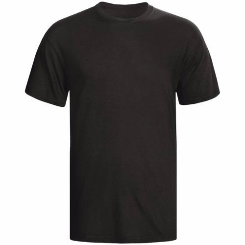 camiseta masculina preta m