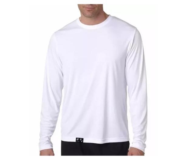 Camiseta Masculina Proteção Solar Line Ice Tecido Gelado Uv - R  30 ... 5030b78ae2e23