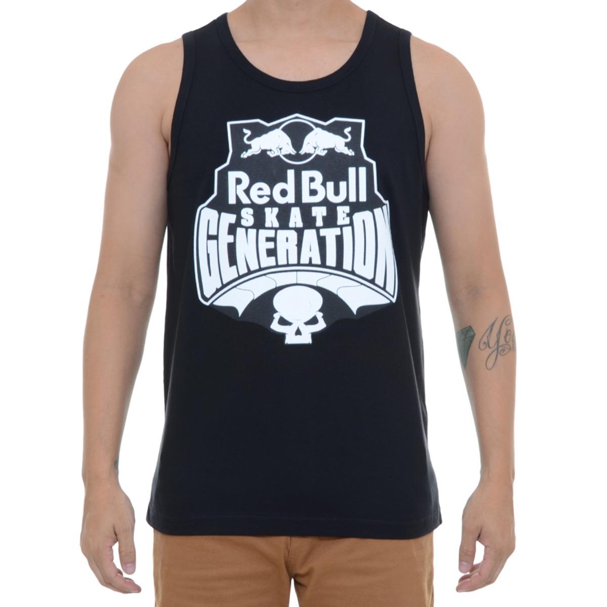 camiseta masculina red bull regata skate generation. Carregando zoom. 6afb76ca76a