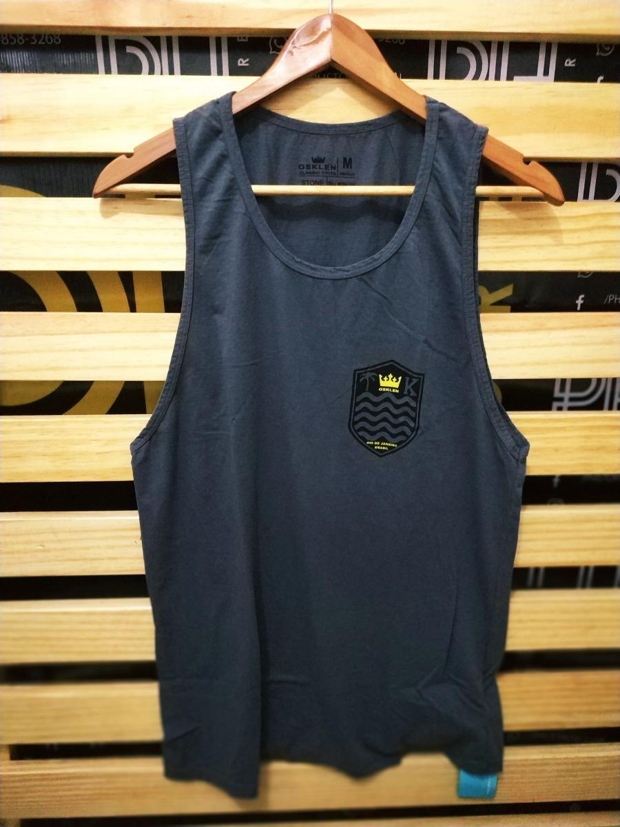 50ee24068d Camiseta Masculina Regata Osklen