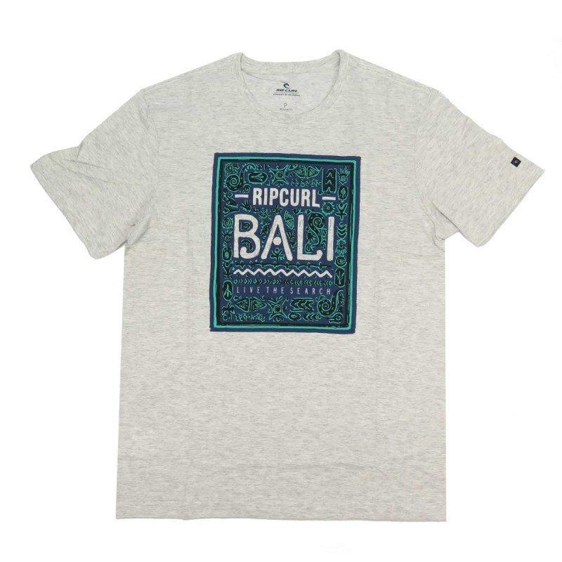 29c7c20775d74 Camiseta Masculina Rip Curl Bali Cinza - R  89,90 em Mercado Livre