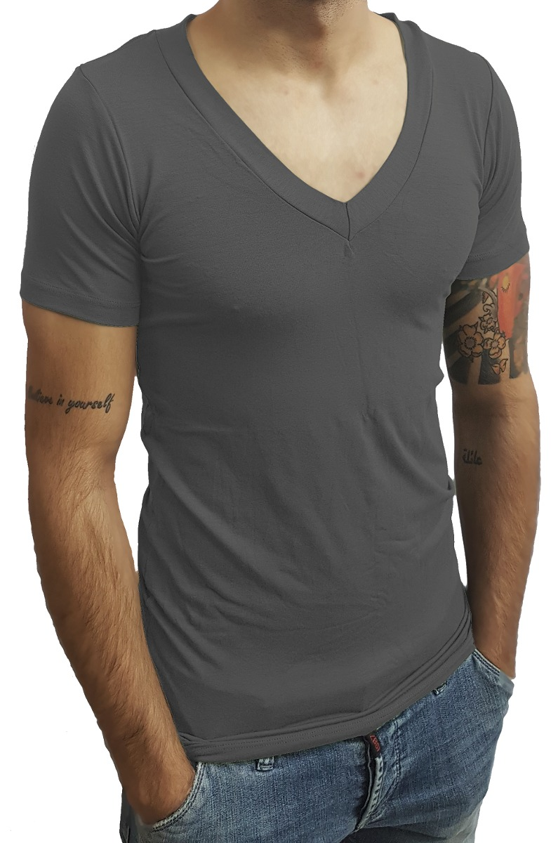 67f089422b camiseta masculina slim fit segunda pele viscolycra funda mc. Carregando  zoom.