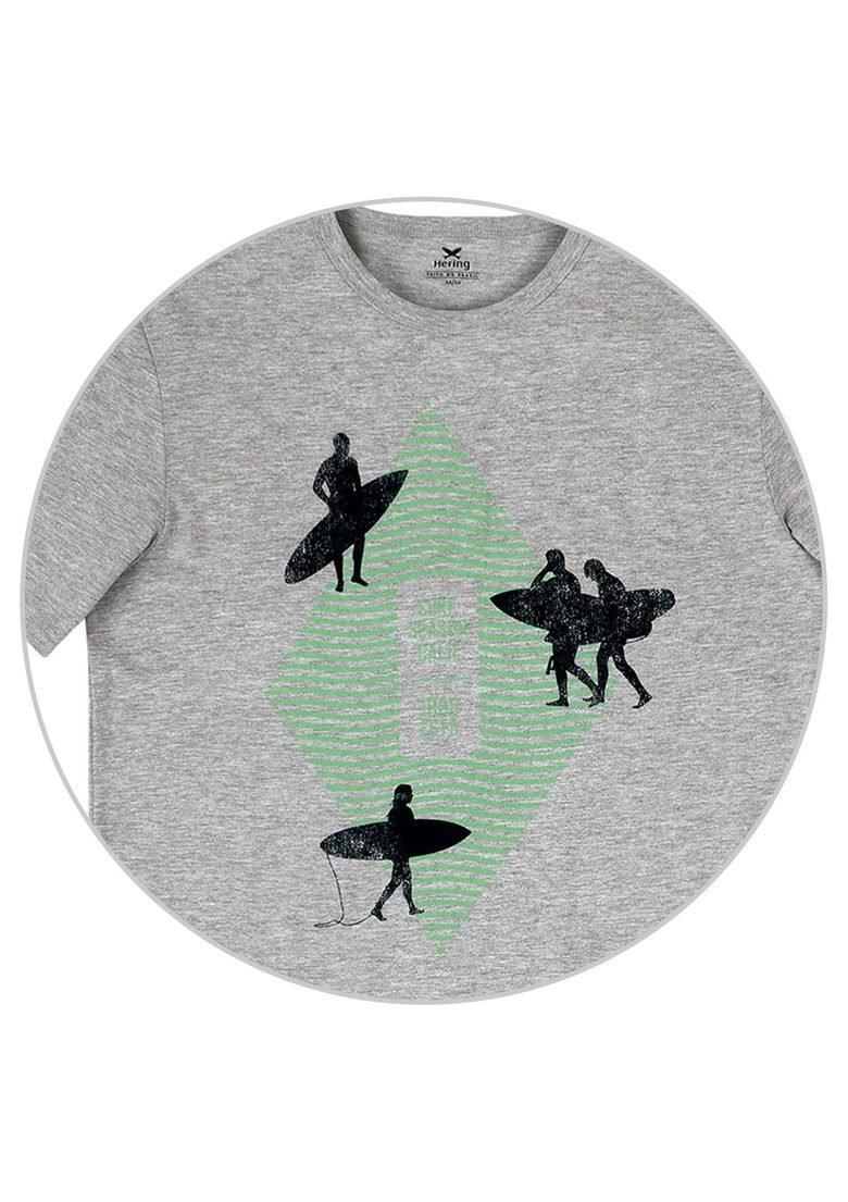 c8232af98 camiseta masculina slim malha algodão estampa hering 4ekv. Carregando zoom.
