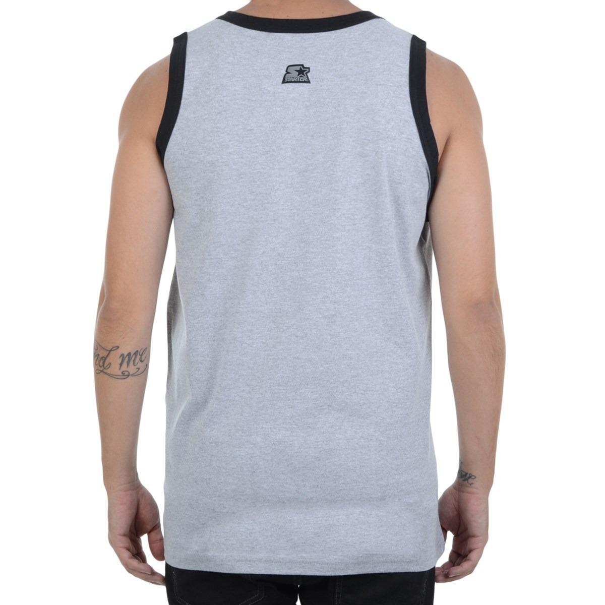 60106ece42 Camiseta Masculina Starter Regata Black Label - R$ 38,00 em Mercado ...