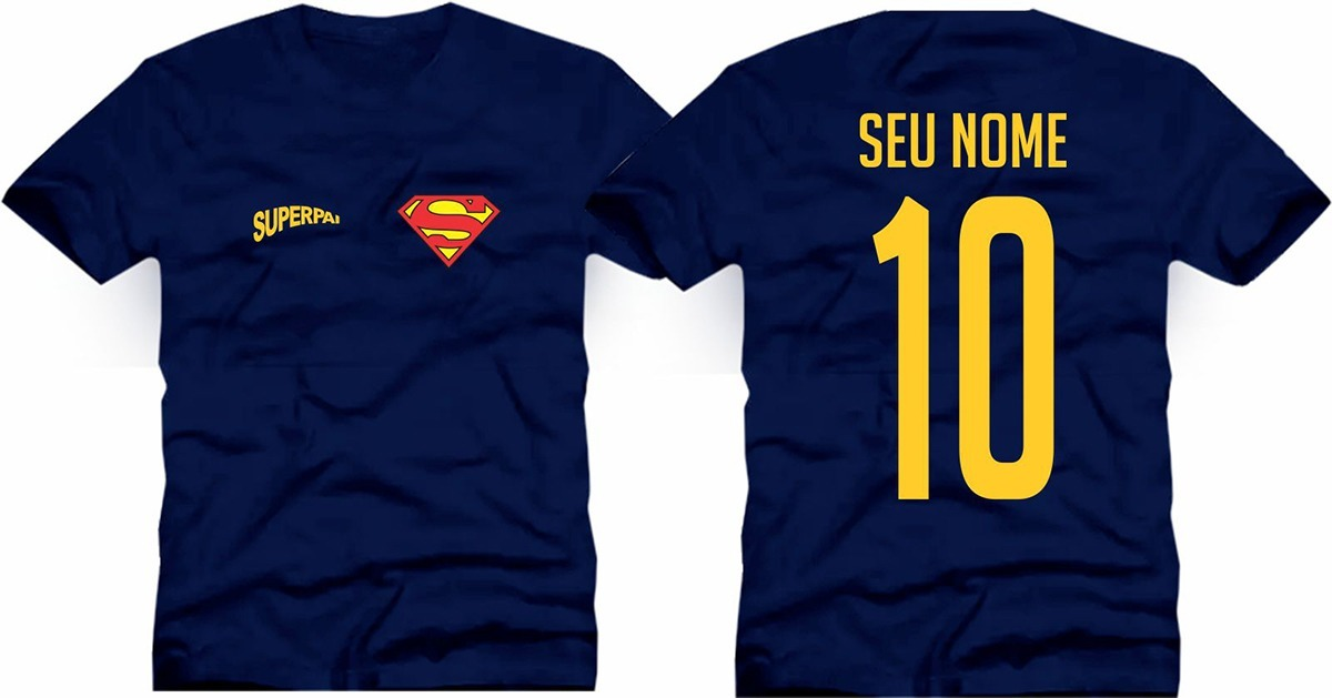 6799719eb camiseta masculina super heroí dias país com nome numero 10. Carregando  zoom.
