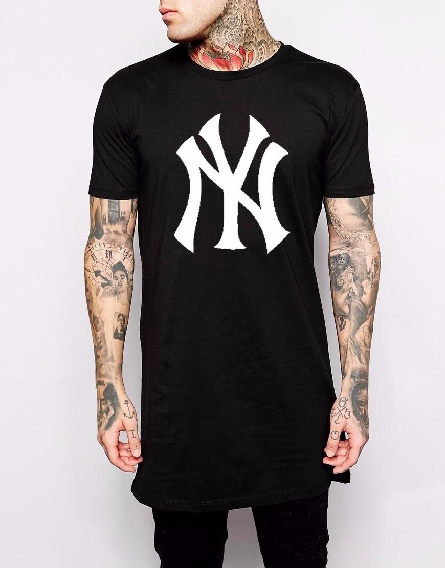 cfc10e317 camiseta masculina swag long line new york a pronta entrega. Carregando  zoom.