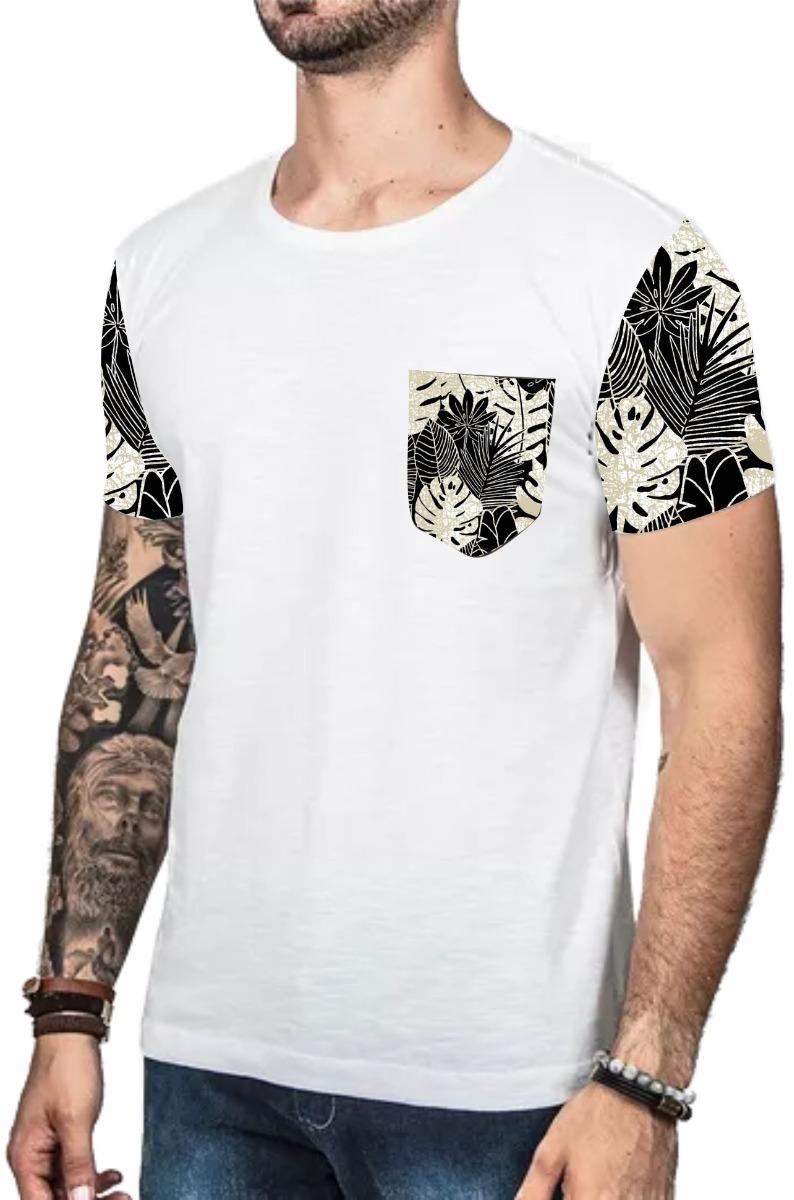camiseta masculina swag oversized camisa floral promoção. Carregando zoom. 524afdd5035