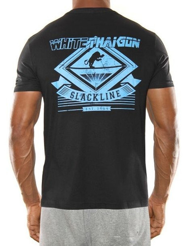 camiseta masculina thaigon/ slackline  - tiger on the rope