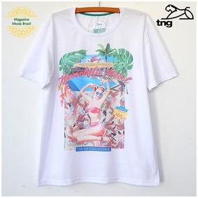 fca425b327 Camiseta Masculina Tng Malha Estampada Promoção
