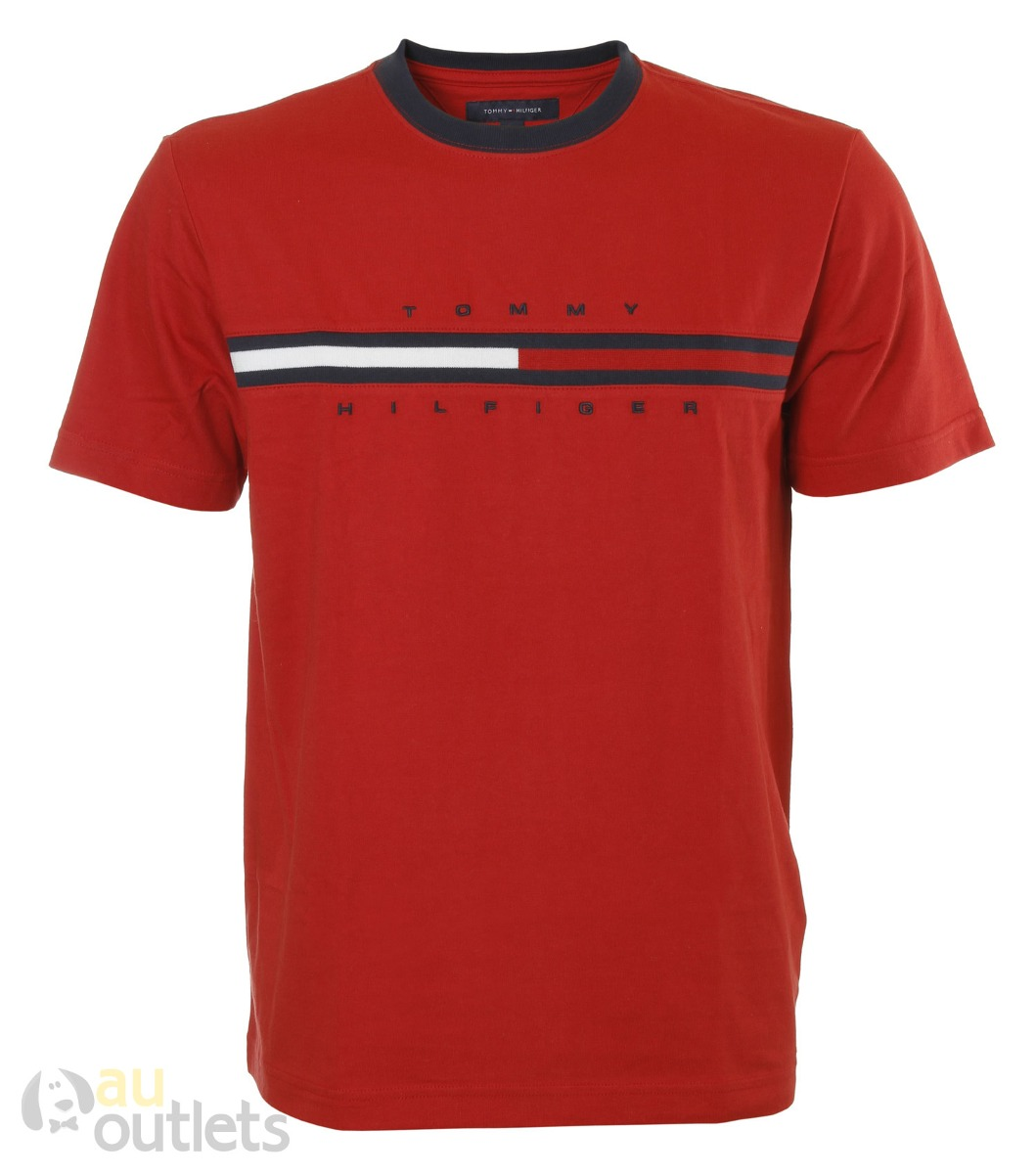 03f75867198839 Camiseta Masculina Tommy Hilfiger Monet - R$ 230,59 em Mercado Livre