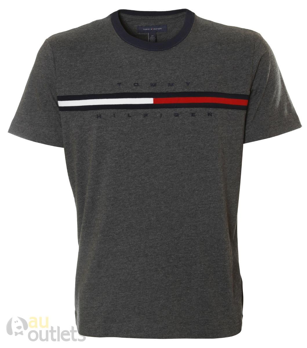 875c55b986d0e7 Camiseta Masculina Tommy Hilfiger Plumbee - R$ 220,87 em Mercado Livre