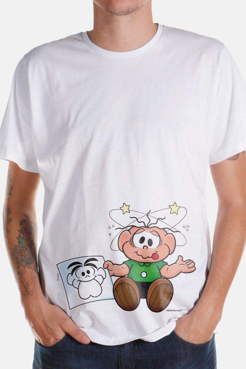 c7c1ca1725 camiseta masculina turma da mônica kids o cebolinha apanhou! Carregando  zoom.